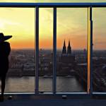 """38. Platz: Jürgen Guhlke, """"Blick vom Triangle Hochhaus auf Köln"""""""