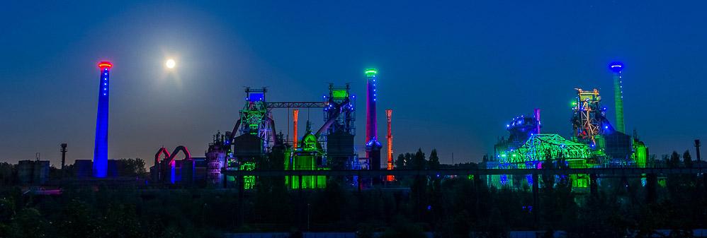 Panorama Landschaftspark Duisburg-Nord