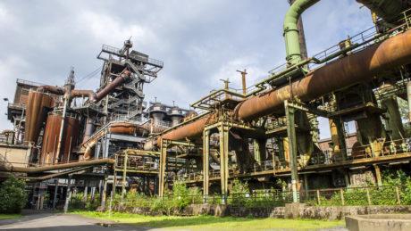Alte Industriekulisse im LaPaDU