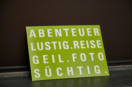 Das Motto der Photo+Adventure 2015