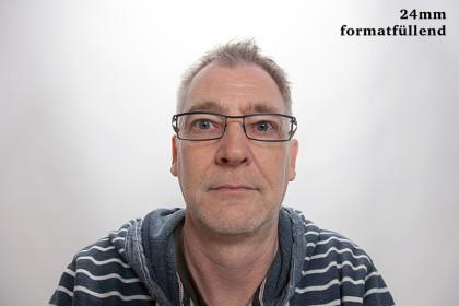 Porträt mit 24mm Objektiv - ganz nah © Jochen Kohl