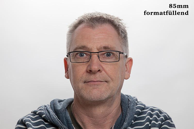 Porträtbrennweite - Porträt mit 85mm Objektiv © Jochen Kohl
