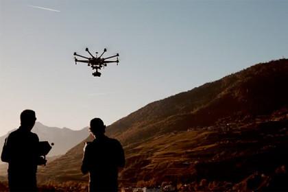 Drohnen-Workshop mit Gianluca Colla