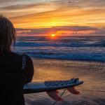 "Fotowettbewerb Abenteuer, 15. Platz: Christopher Neundorf, ""End of a surfsession"""