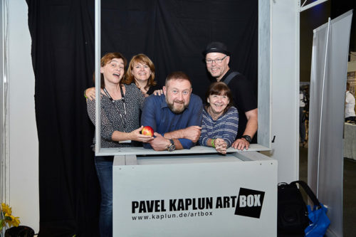 In Pavel Kapluns ArtBox bei der Photo+Adventure 2016, © Photo+Adventure / Tina Umlauf