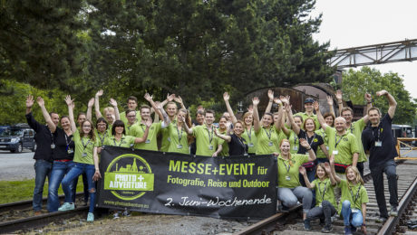 Das nicht ganz vollständige Team der Photo+Adventure 2016