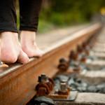 "Fotowettbewerb Abenteuer, 30. Platz: Jonas Beck, ""Walk the line"""