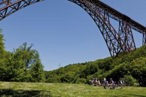 Rast an der Müngstener Brücke