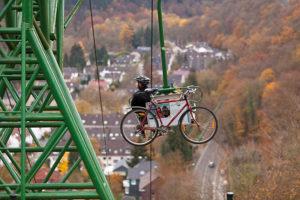 Fahrradtransport Schloß Burg