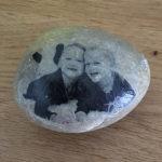 Fotos auf Stein: Endergebnis