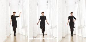 Model beim Gehen, © Jens Brüggemann