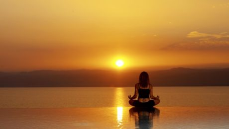Dead Sea Infinity Pool Yoga