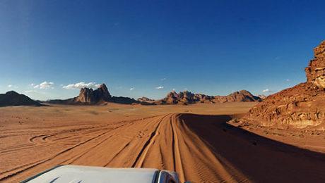 Jeepsafari in Jordaniens Wüste