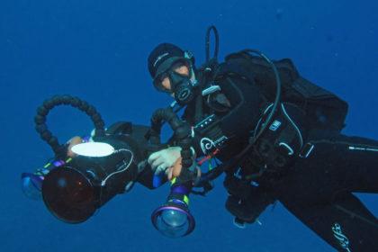 Weltmeisterin Unterwasserfotografie Katja Kieslich