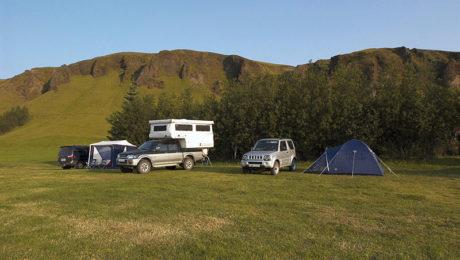 Camping in Island - © Katrin Schmidt