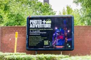 Plakat Photo+Adventure Duisburg 2015