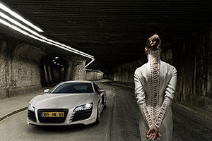 Supercar Fashion Shooting - intermezzo Workshop mit Robin Preston
