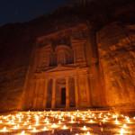 Jordanien - Petra bei Nacht