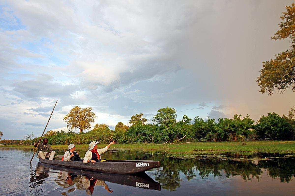 Botswana: Flusstour