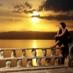 Jordanien - Sonnenuntergang
