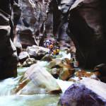 Jordanien - Canyoning Wadi Mujib