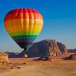 Jordanien - Ballonfahrt im Wadi Rum