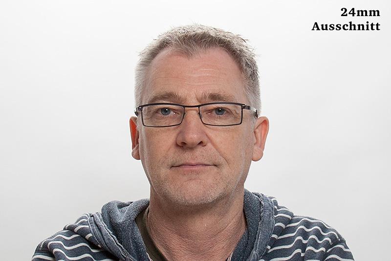 Porträtbrennweite - Porträt mit 24mm Objektiv - Ausschnitt © Jochen Kohl
