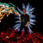 Lightpainting Black Box mit LED Lenser und ZOLAQ