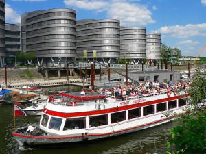 Hafentour © WEISSE FLOTTE DÜSSELDORF/DUISBURG GMBH