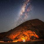 """Fotowettbewerb Abenteuer, 18. Platz: Mark Wessel, """"Namibian Nights"""""""