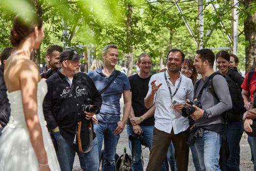Workshop Hochzeitsfotografie mit Firat Bagdu bei der Photo+Adventure 2016, © Photo+Adventure / Tina Umlauf