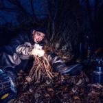 "Fotowettbewerb Abenteuer, 29. Platz: Pascal Meier, ""Abenteuer Feuer machen"""