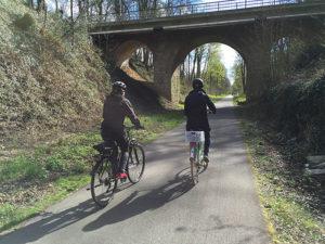 Fahrradtour für Familien - Balkantrasse