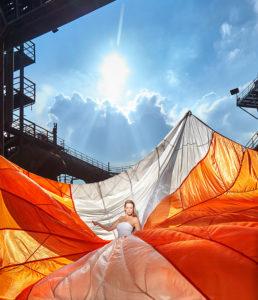 Fallschirm, © Jochen Kohl