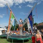 Das Bungee-Trampolin von Kanu Aktiv Tours