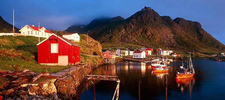 Hafen von Stø, Norwegen, © Gereon Roemer