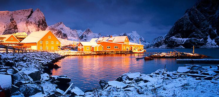 Sakrisøy, Lofoten, Nowegen, © Gereon Roemer