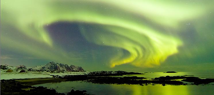 Polarlicht, Nowegen, © Gereon Roemer