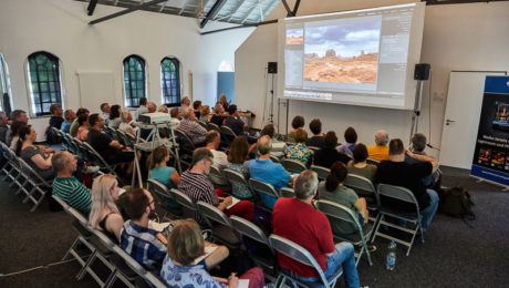 Seminar mit Maike Jarsetz bei der Photo+Adventure 2017, © Tina Umlauf / Photo+Adventure
