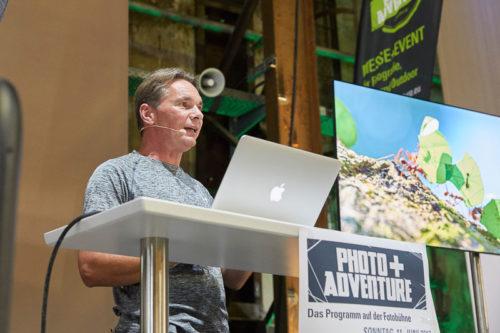 Thorsten Milse bei der Photo+Adventure 2017, ©Tina Umlauf / Photo+Adventure