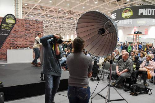Live-Shooting auf der Bühne mit Jochen Kohl