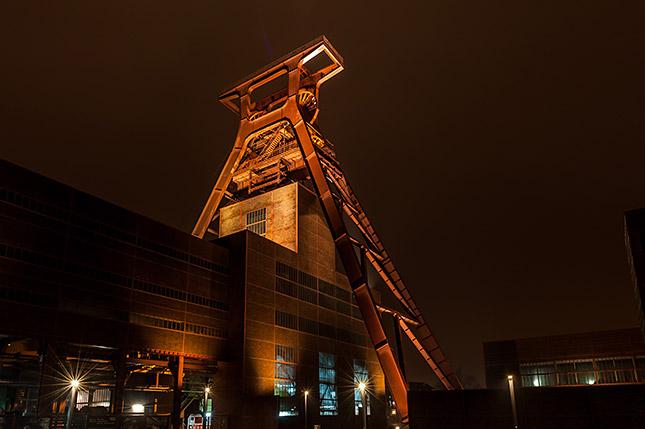 Langzeitbelichtung Zeche Zollverein (c) Olav Brehmer