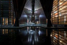 Nächtliche Architekturfotografie am Duisburger Innenhafen - mit Klaus Wohlmann