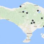 Karte Bali