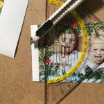 Foto-Adventskalender basteln