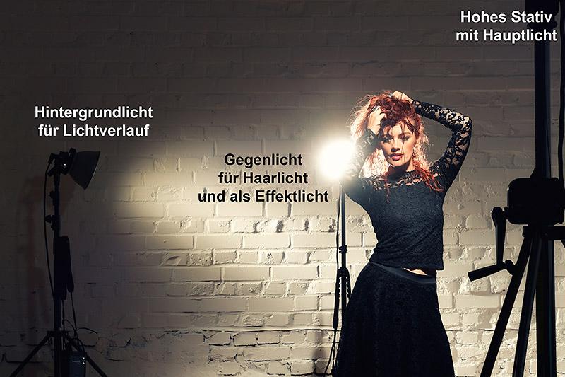 Lichtführung - hartes Porträtlicht, © Jens Brüggemann