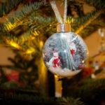 Foto-Weihnachtskugel
