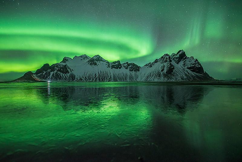 Polarlichtfotografie, © Bastian Werner