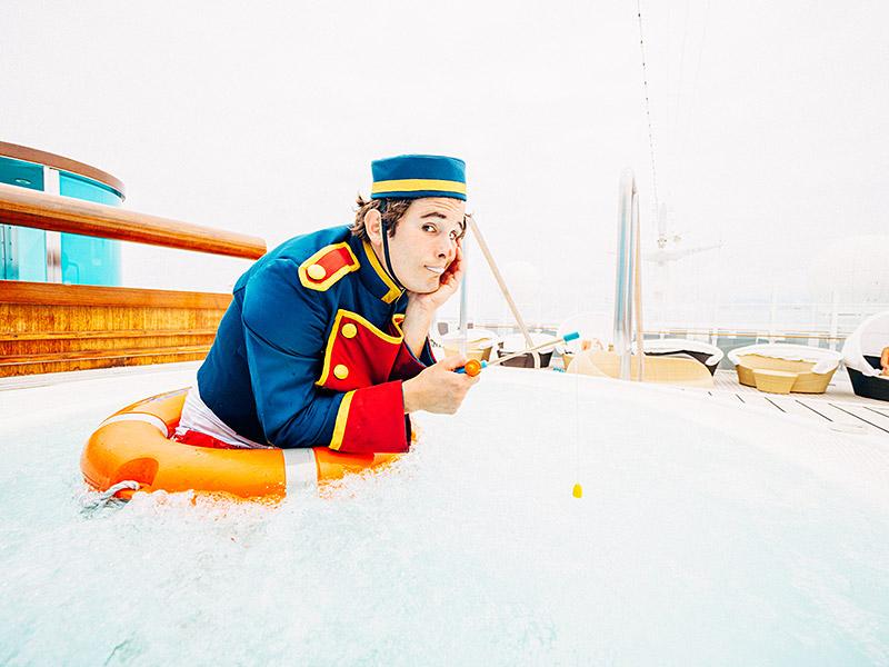 Fotografie an Bord eines Kreuzfartschiffs; © Thomas AdorffFotografie an Bord eines Kreuzfartschiffs; © Thomas Adorff