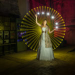 © ZOLAQ, Lightpainting mit Model